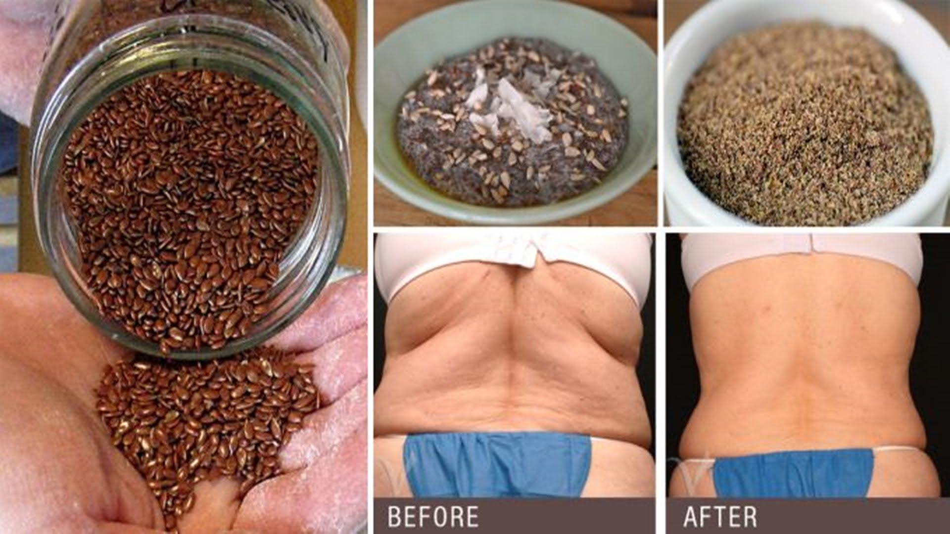 Semillas de lino y clavos para ELIMINAR GRASAS Y PARÁSITOS al mismo tiempo
